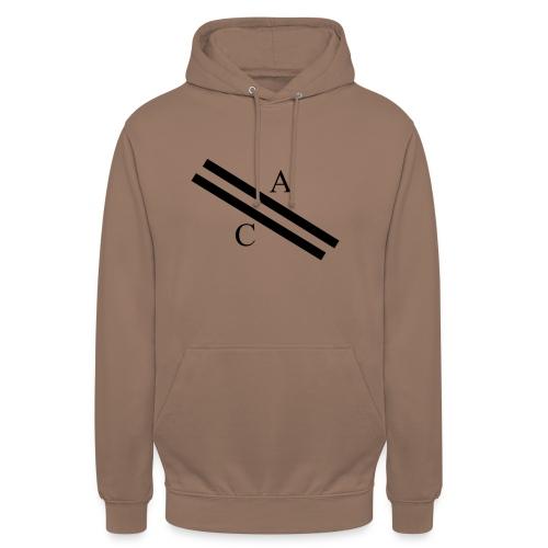 A\\C - Sweat-shirt à capuche unisexe