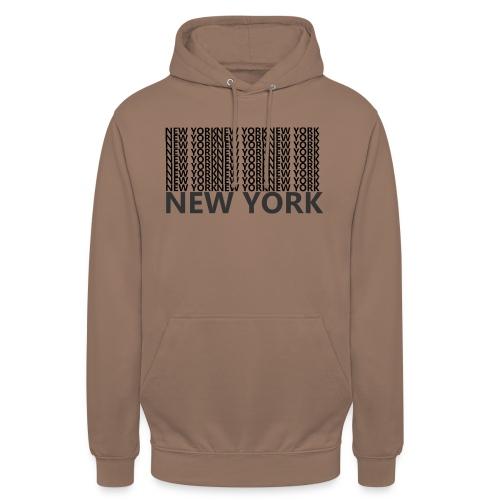 NEW YORK - Hoodie unisex