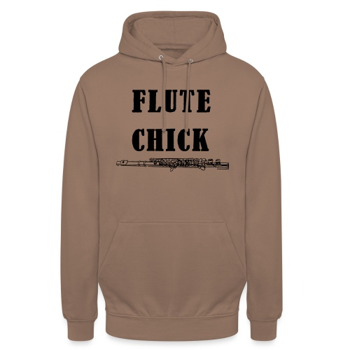 Flute Chick - Unisex-hettegenser