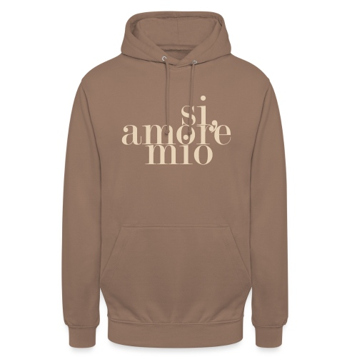 SI, AMORE MIO - Unisex Hoodie
