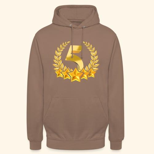 Fünf-Stern 5 sterne - Unisex Hoodie
