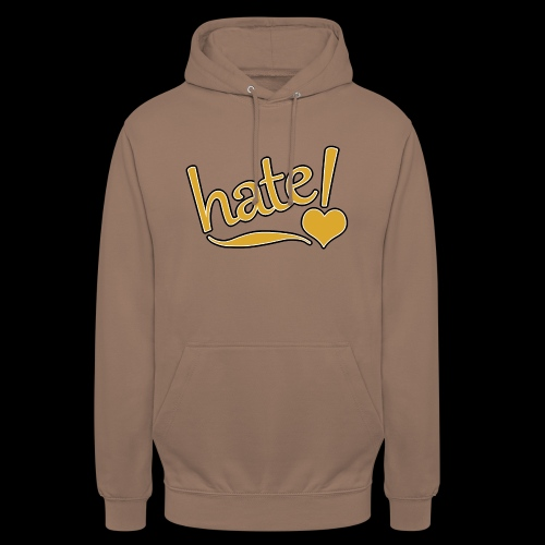 hate ! - Sweat-shirt à capuche unisexe