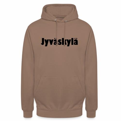 """Jyväskylä - tuotesarja - Huppari """"unisex"""""""