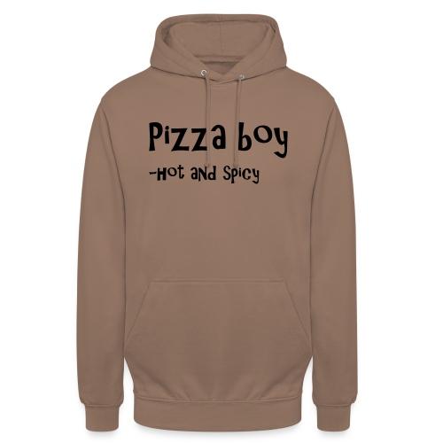 Pizza boy - Unisex-hettegenser