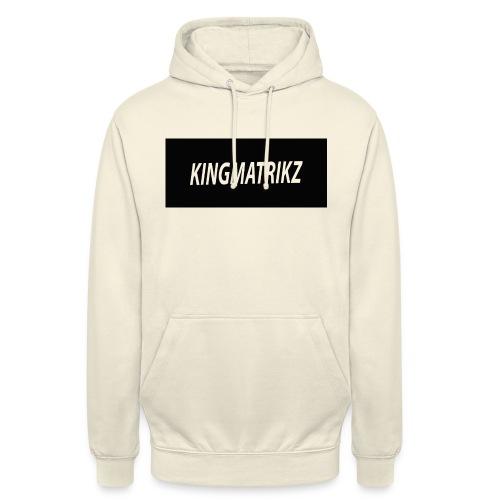 kingmatrikz - Hættetrøje unisex