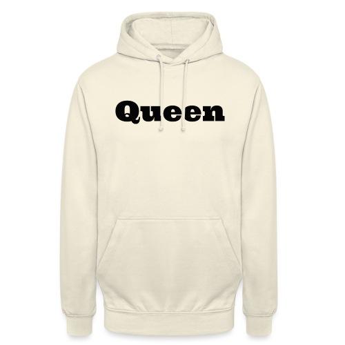 Snapback queen grijs/zwart - Hoodie unisex