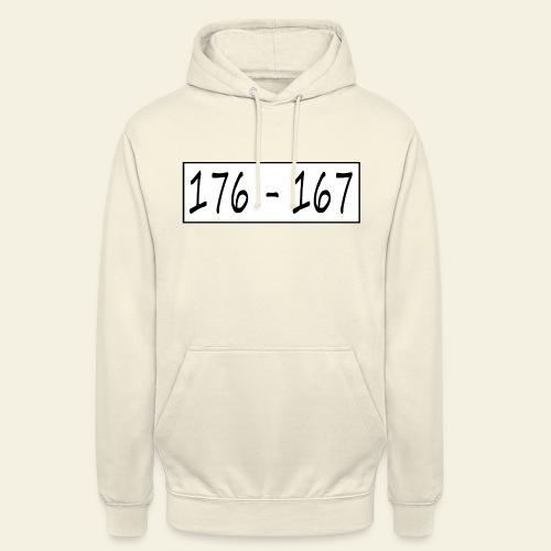 176167 - Hættetrøje unisex