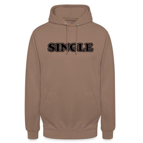 single - Hoodie unisex