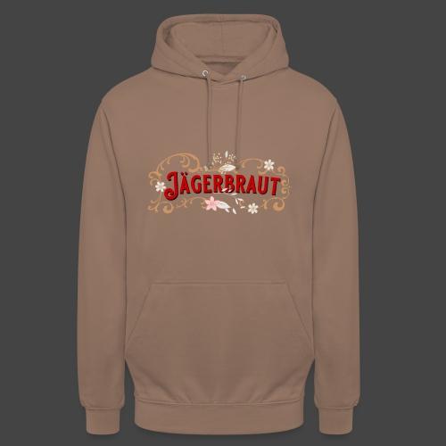Jägerbraut - original Jägershirt - Unisex Hoodie