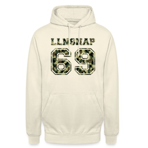 LLNsnap 69 (camo) - Sweat-shirt à capuche unisexe