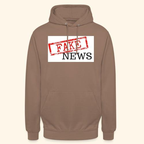 fake news - Unisex Hoodie