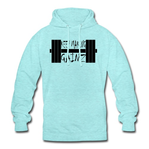 Weight + Text - Unisex Hoodie