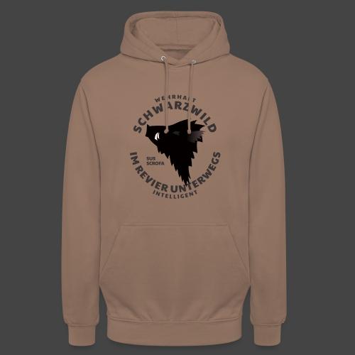 Schwarzwild im Revier-Shirt für Sauenjäger - Unisex Hoodie