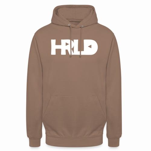 """HRLD White Logo - Huppari """"unisex"""""""