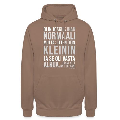 """Vasta Alkua Kleini - Huppari """"unisex"""""""
