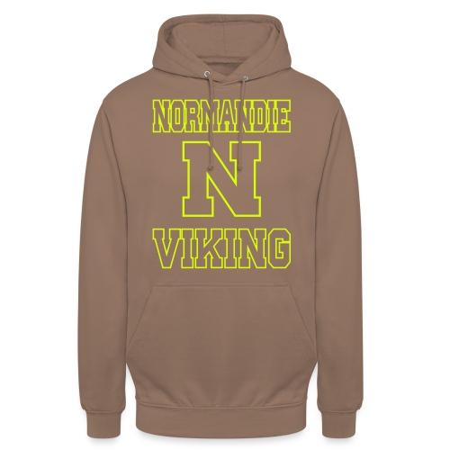Normandie Viking Def jaune - Sweat-shirt à capuche unisexe