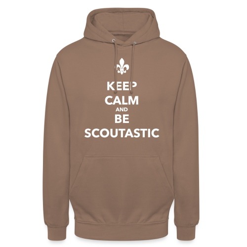 Keep calm and be scoutastic - Farbe frei wählbar - Unisex Hoodie