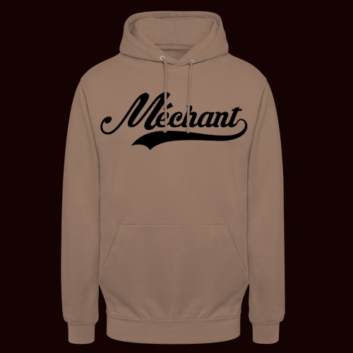mechant_logo - Sweat-shirt à capuche unisexe