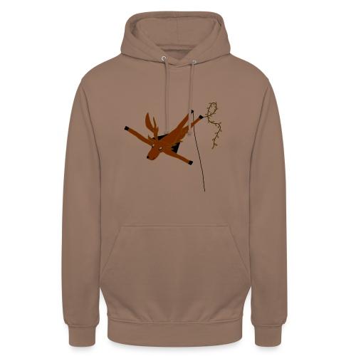 Cerf-Volant - Sweat-shirt à capuche unisexe