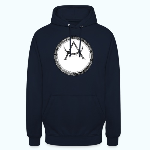 Mystic motif with sun and circle geometric - Unisex Hoodie