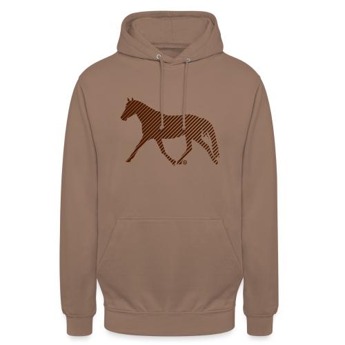 Streifen Pferd - Unisex Hoodie