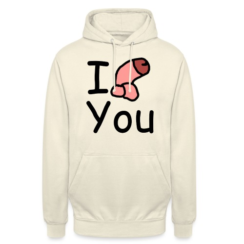 I dong you pillow - Unisex Hoodie