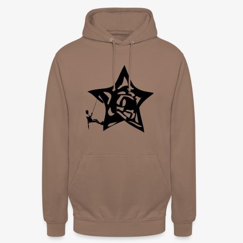 Rapel desde estrella - Star Rappel - Climb - Unisex Hoodie