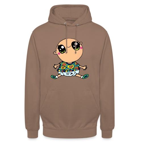 Louis le bébé - Sweat-shirt à capuche unisexe