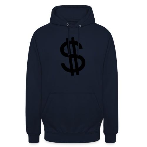 Dollar - Sudadera con capucha unisex