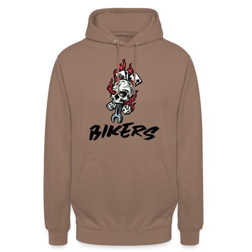 bikers 66 - Sweat-shirt à capuche unisexe