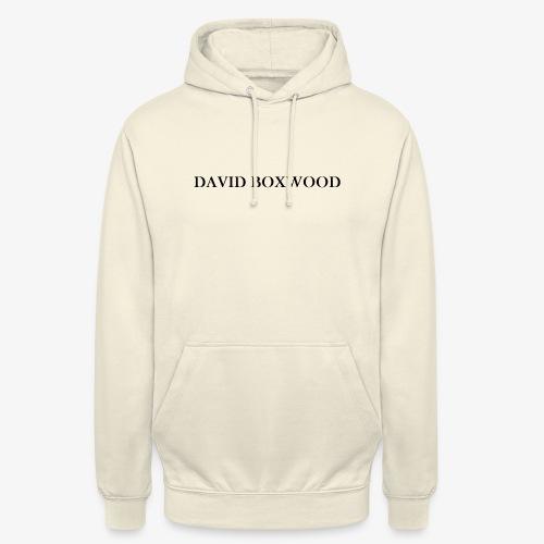 DAVID BOXWOOD - Felpa con cappuccio unisex