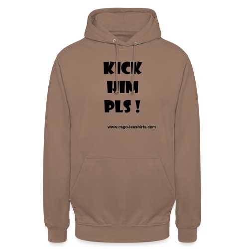 Kick Him Please ! - Sweat-shirt à capuche unisexe