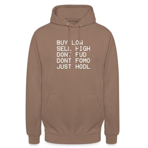 juste Hodl - Sweat-shirt à capuche unisexe