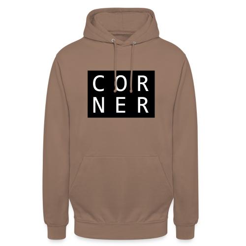 cornerbox - Hættetrøje unisex