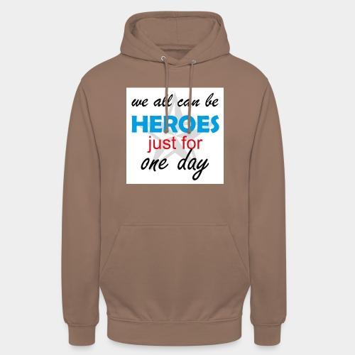 GHB Jeder kann ein Held sein 190320183w - Unisex Hoodie