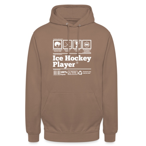 Ice Hockey Player Present Funny Hilarious - Unisex Hoodie