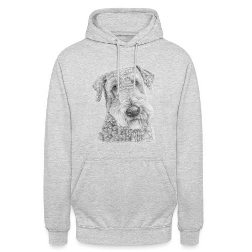 airedale terrier - Hættetrøje unisex