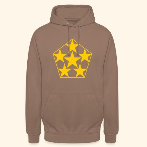 5 STAR gelb - Unisex Hoodie