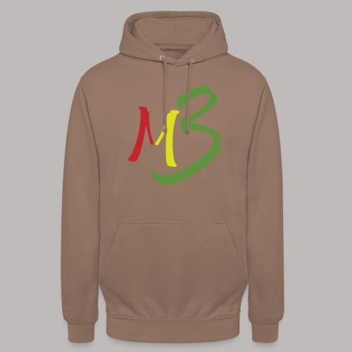 MB13 Logo rasta1 - Unisex Hoodie