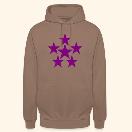 5 STAR lilla - Unisex Hoodie