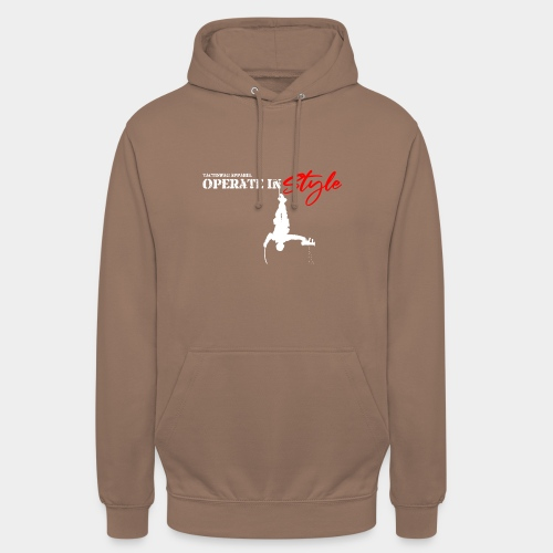 Hang in there & operate in style - Unisex Hoodie