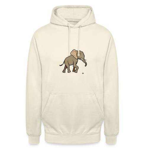 African Elephant - Unisex Hoodie