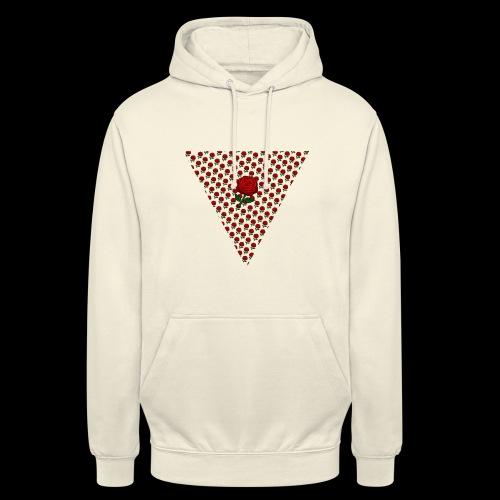 Dreieck Rose - Unisex Hoodie