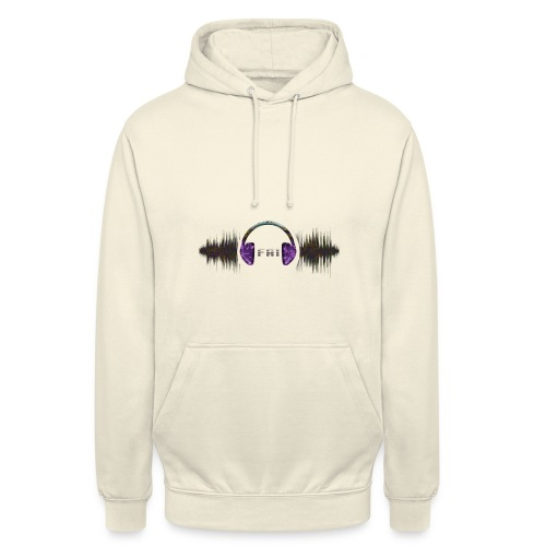 Clothing design (dance music) - Unisex Hoodie