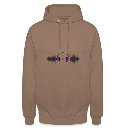 Clothing design (dance music) - Unisex Hoodie