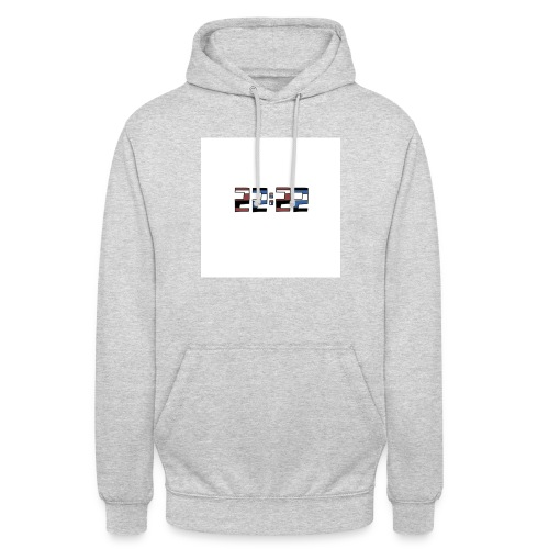 22:22 buttons - Hoodie unisex