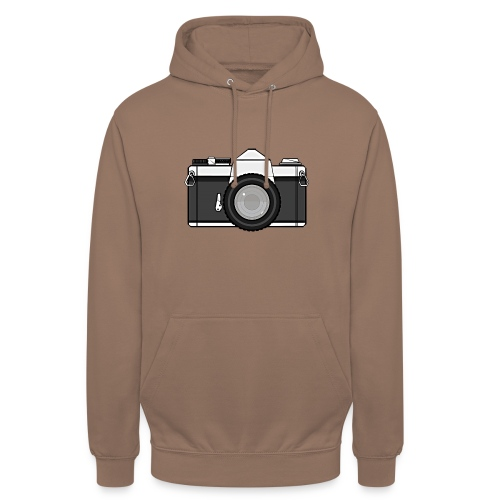 Shot Your Photo - Felpa con cappuccio unisex