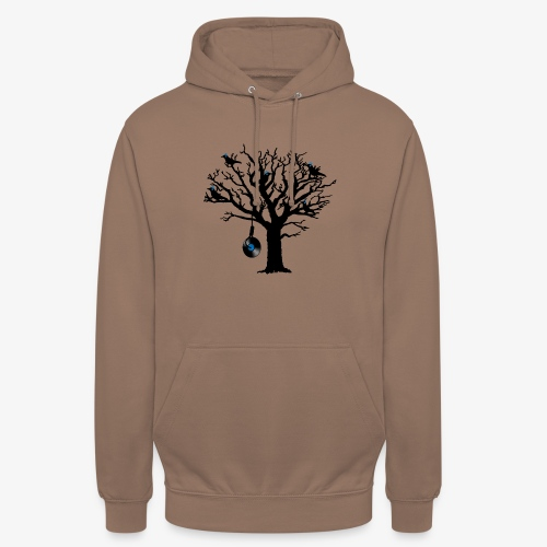 Musical Birds in Tree 2 blau Hangman Vinyl - Unisex Hoodie