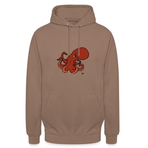 Pieuvre géante du Pacifique - Sweat-shirt à capuche unisexe
