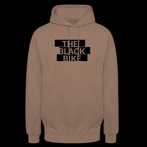 THE BLACK BIKE - Sweat-shirt à capuche unisexe